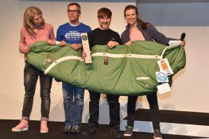 """Das neue Schlafsack-Modell von Grüezi bag wurde auf der Ispo 2019 zum """"Produkt des Jahres 2019"""" gekürt. Foto: Gruezi bag"""